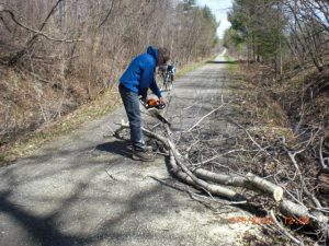 Spring Clean-up is Underway!